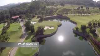 [동남아골프여행] 팜가든 골프클럽 - Palm Garden Golf & Country Club HD Video 2014