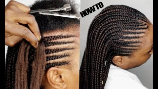 Tips and Tricks Gipping The Roots CORNROWS TUTORIAL HOW TO