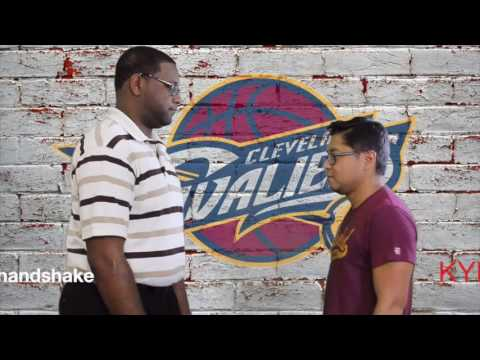 How to do 5 Cleveland Cavaliers handshakes before the NBA Finals (video)