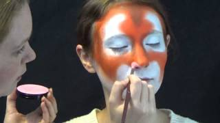 RubyRed Tiger - How to face paint a tiger - www.rubyredpaint.com