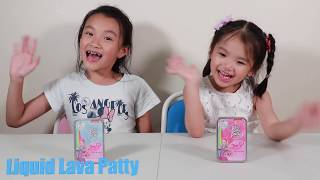Jojo Siwa Liquid Lava Putty Unboxing and Slime Play