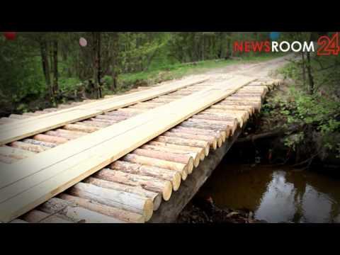 Нижегородские дачники своими силами благоустроили поселок Черемас и установили автомобильный мост
