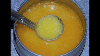 பாலாடையிலிருந்து  வெண்ணெய், நெய் - Ghee from Milk Cream (Dumplings) - Nanjil Prema Samayal