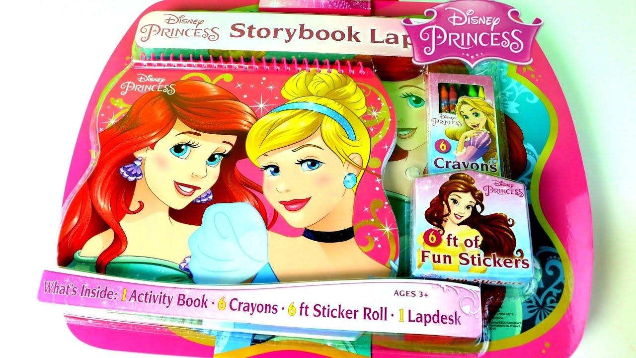 JUGUETES!! Princesas Disney Kit De Actividades Para Colorear |Disney ...