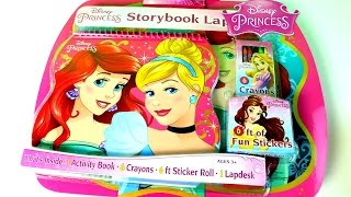JUGUETES!! Princesas Disney Kit De Actividades Para Colorear |Disney Princess Coloring Book