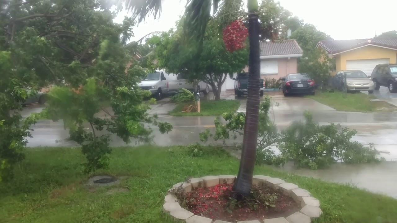 Hurricane Irma in Pompano Beach FL - YouTube