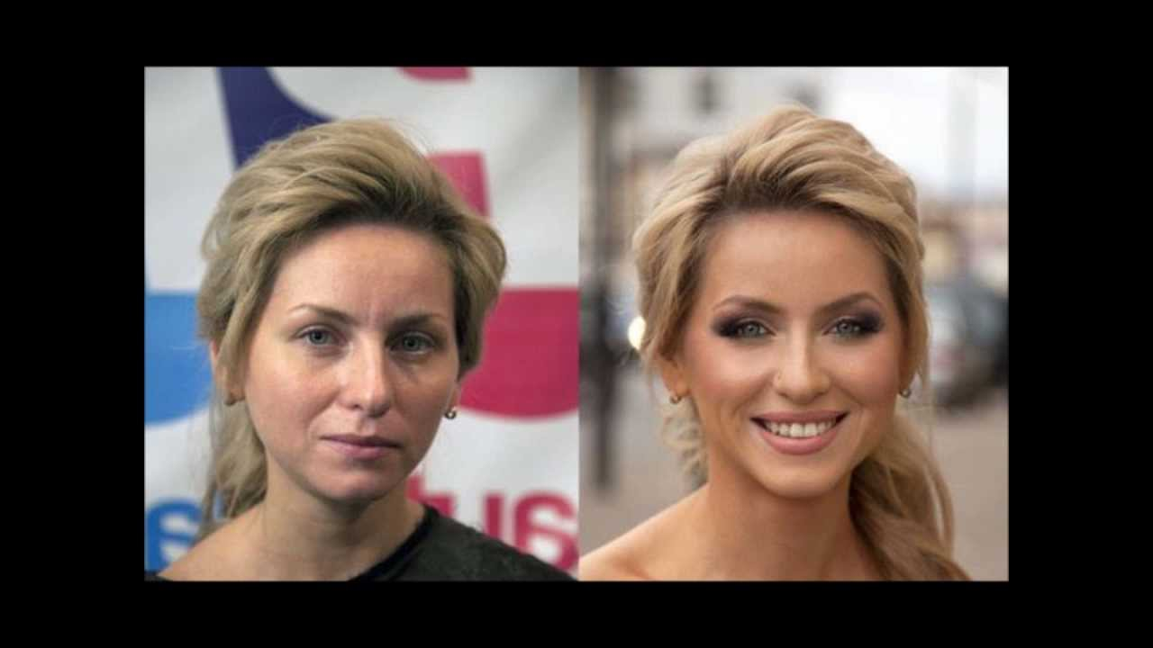 Amazing Makeup Transformations - (Before and After)