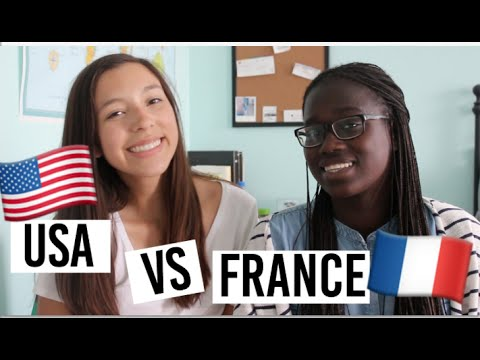 USA vs FRANCE Stereotypes + Meet Minthy my French Exchange Student