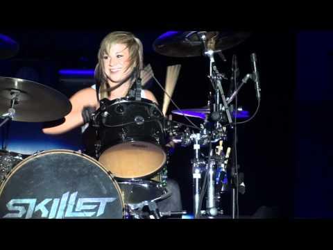 Jen Ledger's drum solo - Point Fest 2011