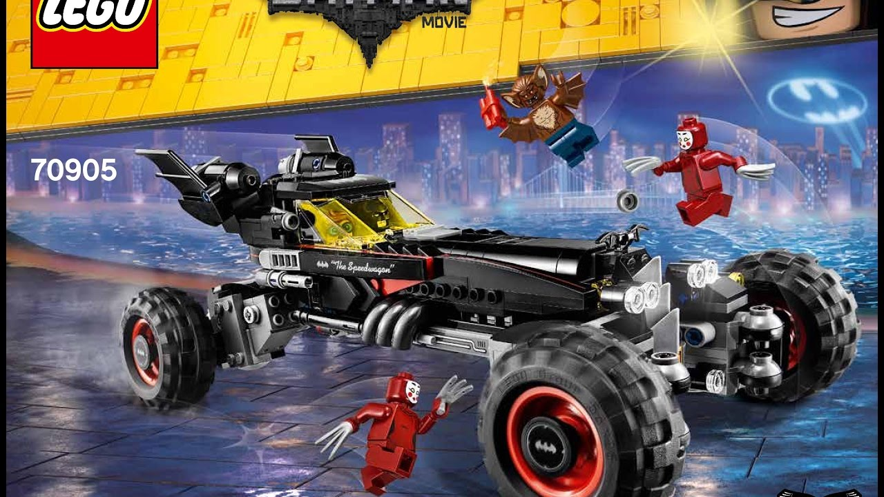 lego batman movie the batmobile 70905 instructions diy book 1 youtube. Black Bedroom Furniture Sets. Home Design Ideas