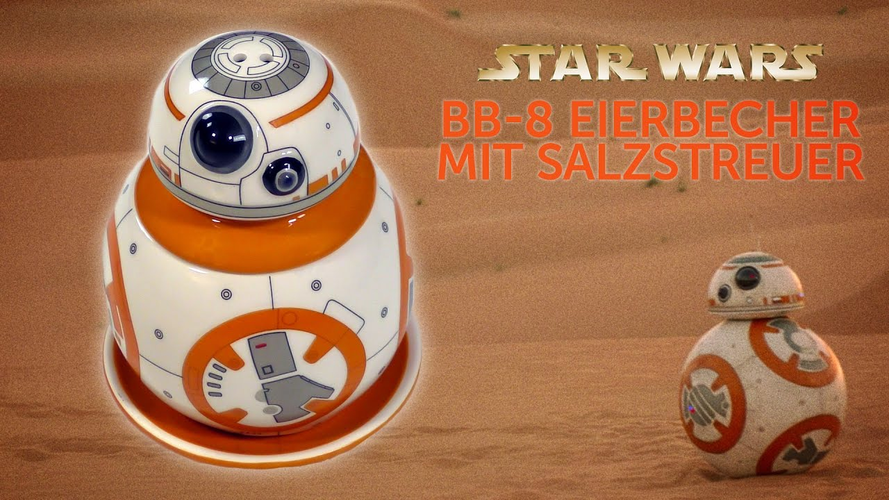 Star Wars Küchenutensilien Star Wars Der Bb 8 Eierbecher