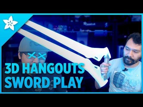 3D Hangouts - Sword Play