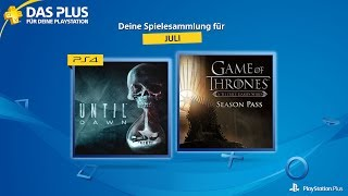 PlayStation Plus - Juli 2017