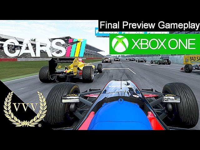 Project Cars - XBox One Gameplay, Final Preview