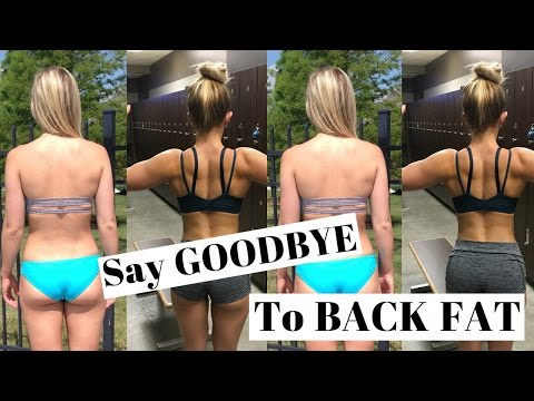 Say GOODBYE To Back FAT | Workout For Women