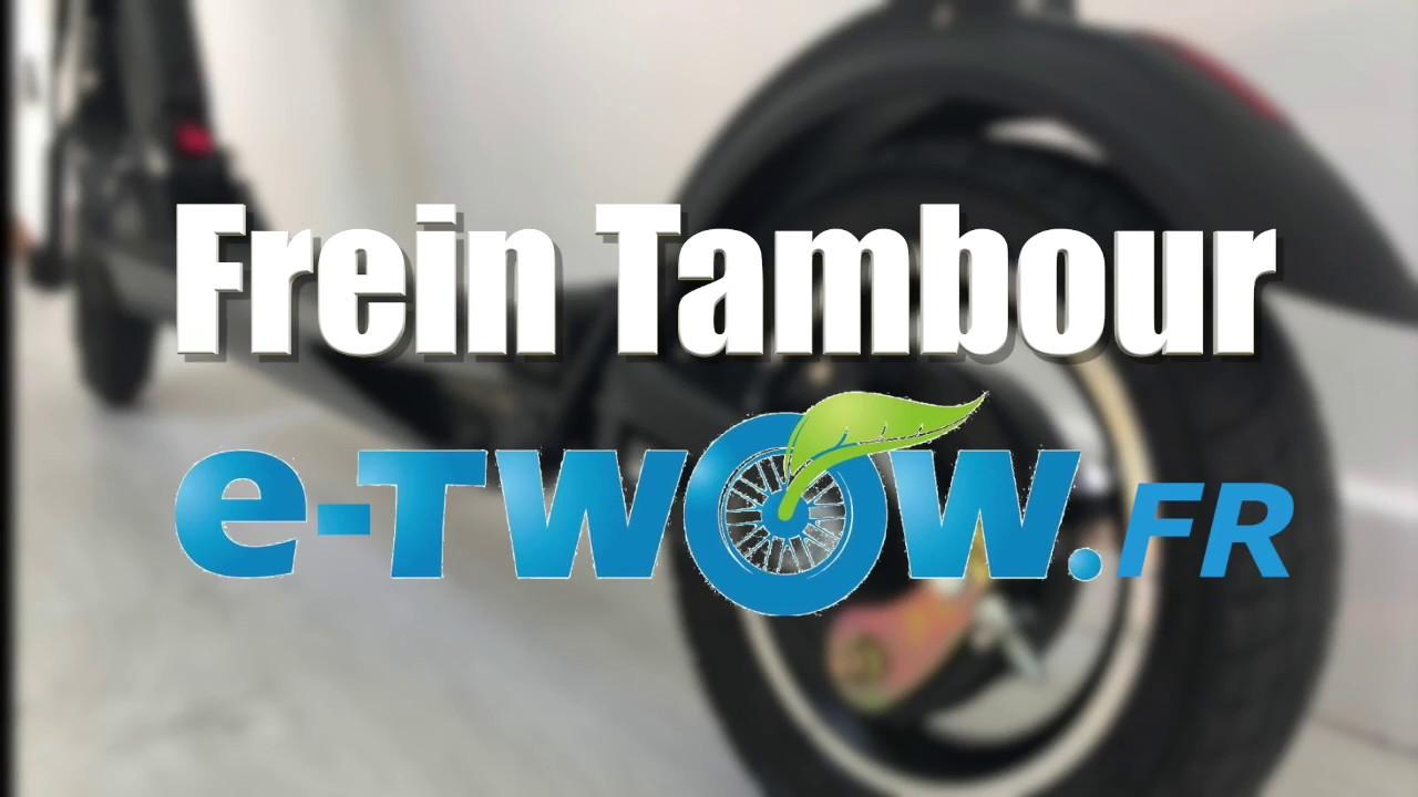 Frein Tambour eTwow Booster (Tuto de montage)