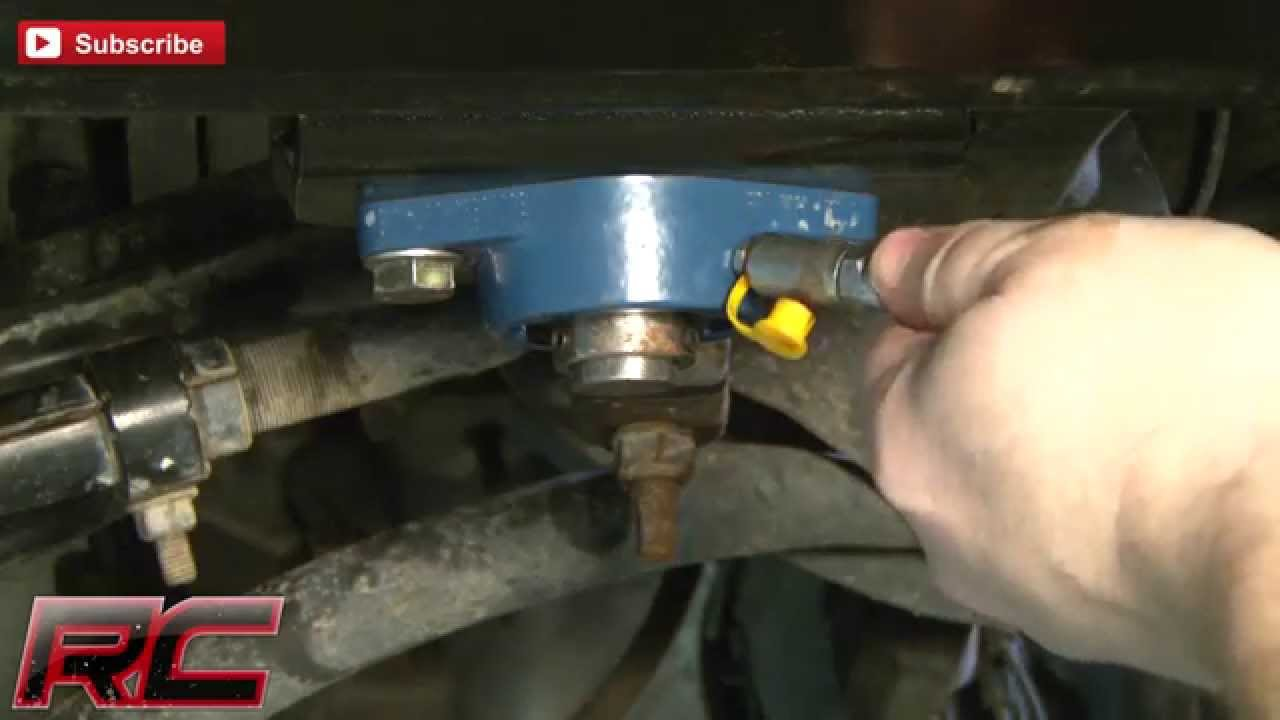 Rough Countrys Dodge Ram 2500 3500 03 08 Steering Box Brace Youtube