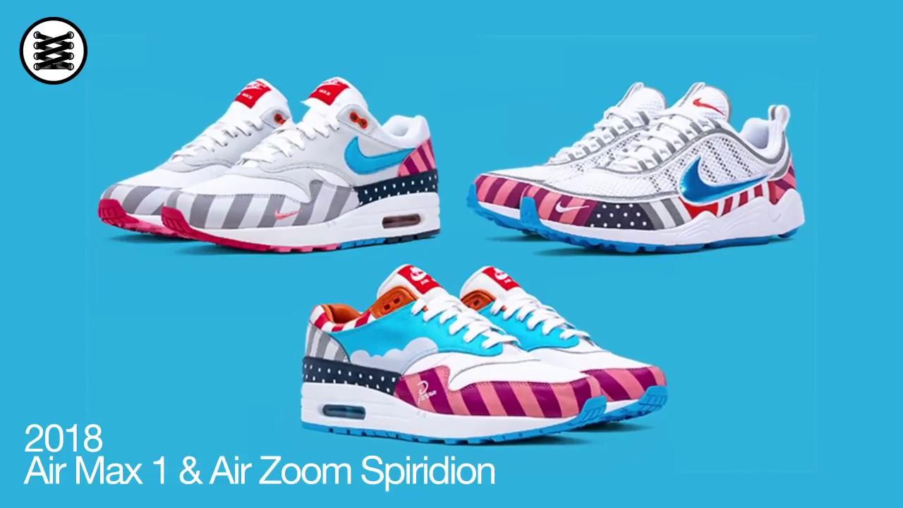 Nike X Parra Air Max 1