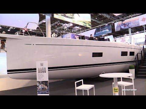 2018 Grand Soleil 52 Long Cruise Sailing Yacht - Walkaround - 2018 Boot Dusseldorf Boat Show