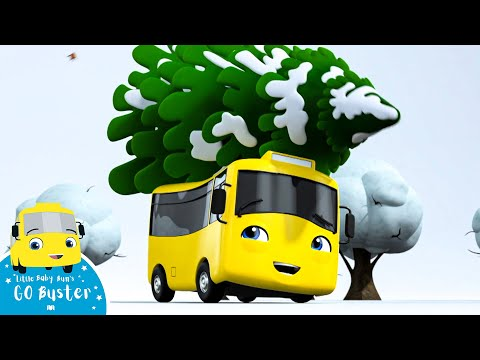 Go Buster - First Snowy Christmas Song | BRAND NEW SERIES | Little Baby Bum | Cartoons For Kids