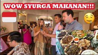 PERTAMA KALI KE PESTA INDONESIA DI UK!! begitu banyak makanan!!! PART 1