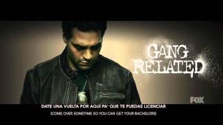 Gang Related [FOX]: Rey El Vikingo - Cumbia De Guerra / with Lyrics (Season 1: Episode 8)