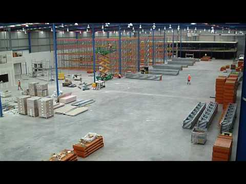 Warehouse Construction Time Lapse Sydney