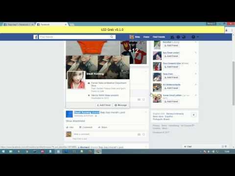 UID grab facebook