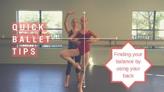 Balance and Pirouette Tips | Quick Ballet Tips