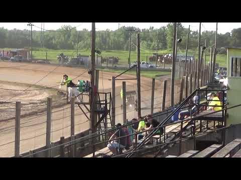 Paradise Speedway Brandyn Griffin 7/15/17 Heat win