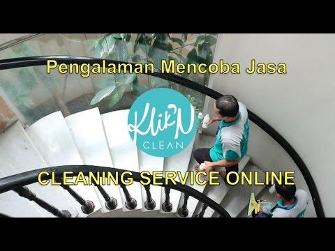 Pengalaman Mencoba Jasa KLIK N CLEAN, Cleaning Service Online  di Sekretariat Blogger Reporter