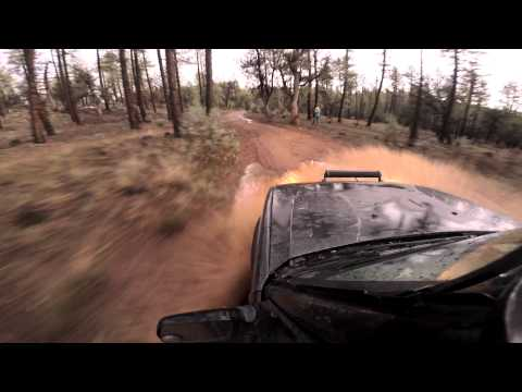 Discovery II Offroad Adventure Through The Woods/Forest In Payson Arizona