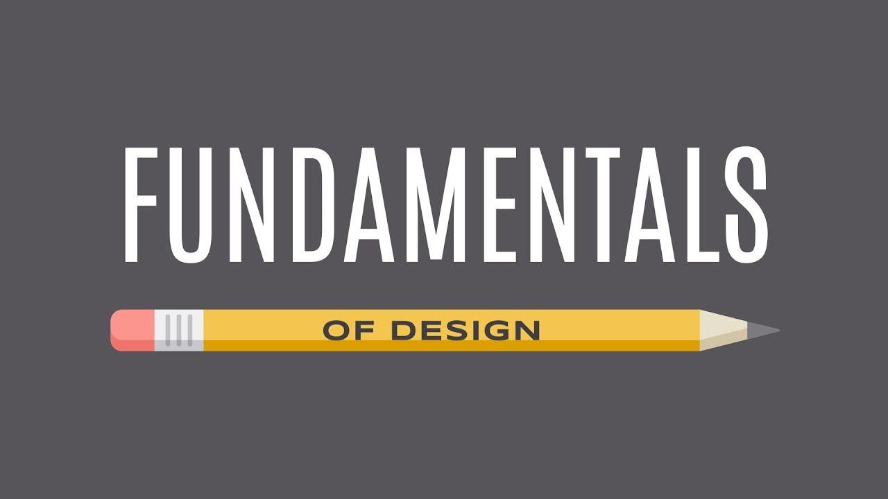 Beginning Graphic Design Fundamentals Youtube
