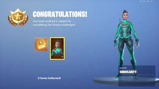 Fortnite Singularity Skin Unlocked + Challenges