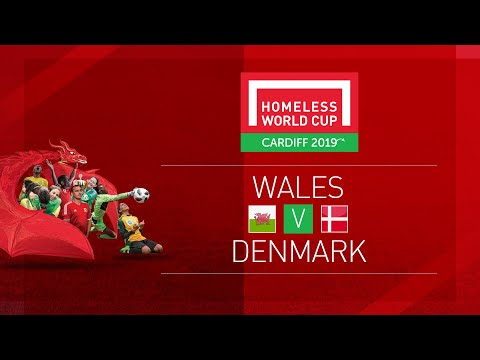 Wales vs Denmark   Day 1, Pitch 1   Homeless World Cup 2019