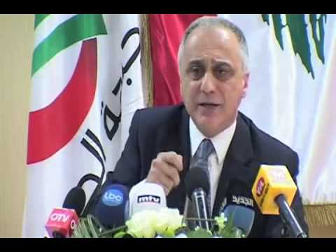 The reply of Fouad Abou Nader to Samir Geagea - Press Conference (20 min) - April 18, 2013