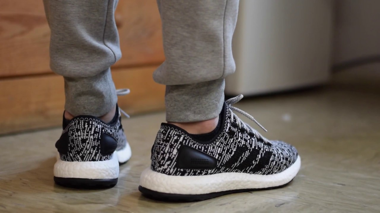 Adidas Pure Boost Review On Feet Best Running Shoe Of