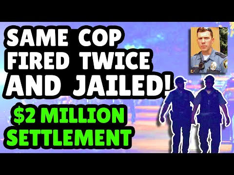 Cops Allow K-9 To Maul Innocent Man --- Officer Gets 6yrs In Jail --- $2 Million Settlement