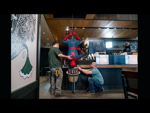 Spider-Man: Morning Coffee Prank - S5i Digital