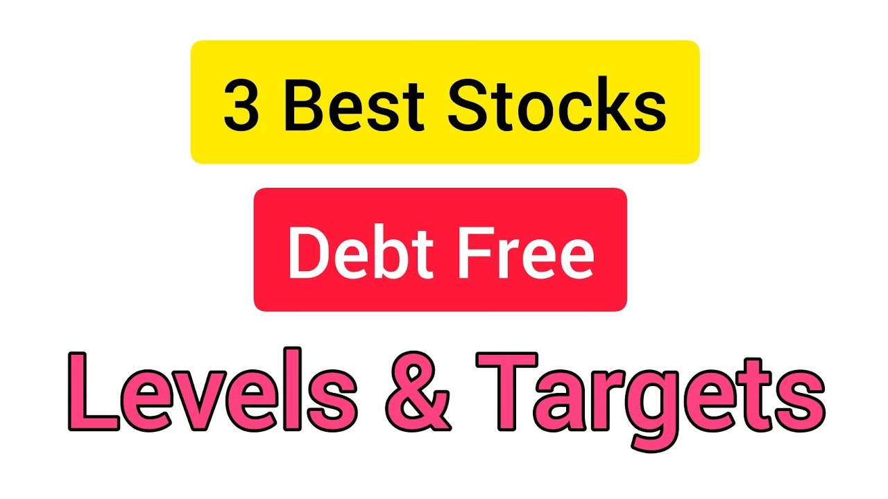 3 Debt Free Stock चूकना नहीं 🔥 Best Stocks to Buy Now | Stock Market for Beginners