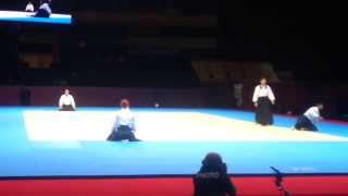 2. Aikido demonstration of SAA by WCG - St. Pettersburg 2013