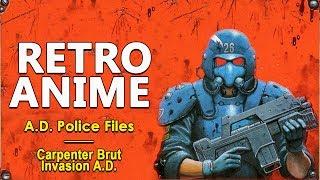 [AMV] A.D. Police (Carpenter Brut - Invasion A.D.)