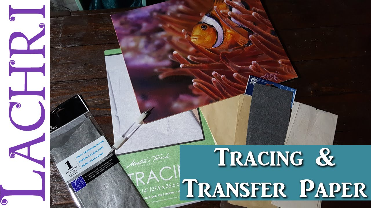 How to use tracing and transfer paper acrylic painting tips w how to use tracing and transfer paper acrylic painting tips w lachri youtube malvernweather Choice Image