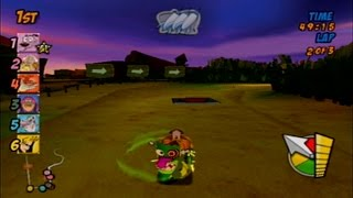 Cartoon Network Racing - Courage Race [PS2]