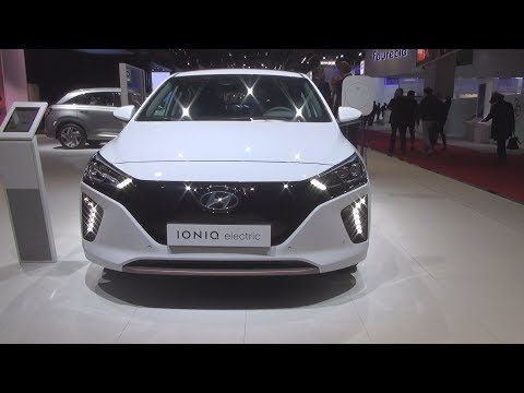 Hyundai Ioniq Electric Executive (2019) Exterior And Interior