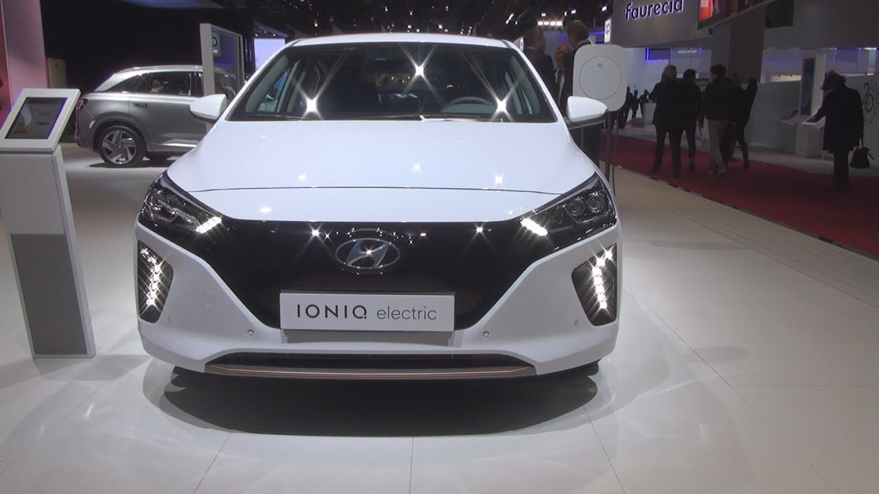 hyundai ioniq electric executive 2019 exterior and interior youtube. Black Bedroom Furniture Sets. Home Design Ideas