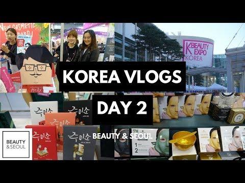 KOREA VLOGS DAY 2   KBeauty Expo
