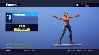 NEW PUMPERNICKEL EMOTE!!! | V Bucks Giveaway | 285+ WINS | 10,000+ KILLS | Fortnite BR