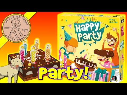 Happy Party Birthday Candles Game - Blow Out The Candles And Win!