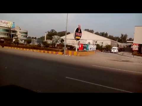 Travelling from Tulip Hotel to Jhelum Cantt